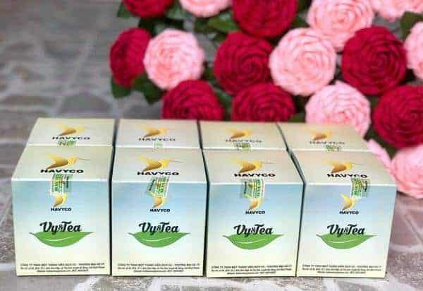 Trà giảm cân Vy Tea cho phụ nữ sau sinh