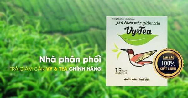 co ai sua dung tra giam can vy tea chua 01 - Có sử dụng trà giảm cân Vy Tea chưa?