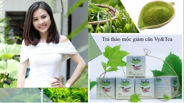 huong dan uong tra giam can vy tea 02 - Hướng dẫn cách uống trà giảm cân Vy Tea hiệu quả
