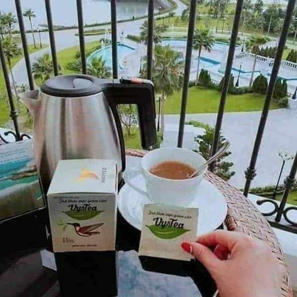 huong dan uong tra giam can vy tea 04 - Hướng dẫn cách uống trà giảm cân Vy Tea hiệu quả