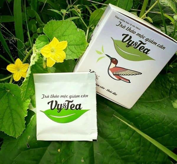 tra giam can vy tea 01 1 - Lợi ích khi sử dụng trà giảm cân Vy Tea mỗi ngày