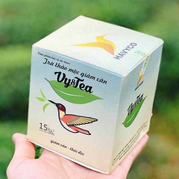 thanh phan tra giam can vy tea la gi 01 - Thành phần trà giảm cân Vy & Tea gồm những gì?
